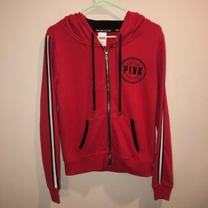 Victoria's Secret Pink Limited Edition Hoodie Red
